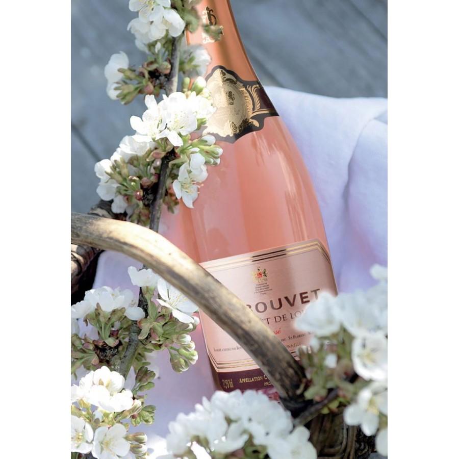 Bouvet L'Excellence Cremant de Loire Brut Rose